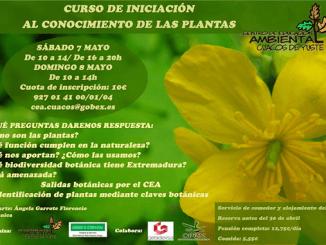 Curso de Iniciación al Conocimiento de las Plantas