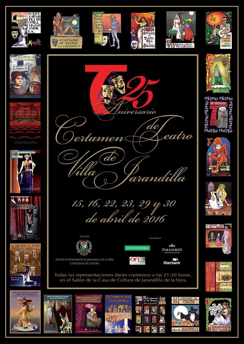 "XXV Certamen de Teatro ""VILLA DE JARANDILLA"""