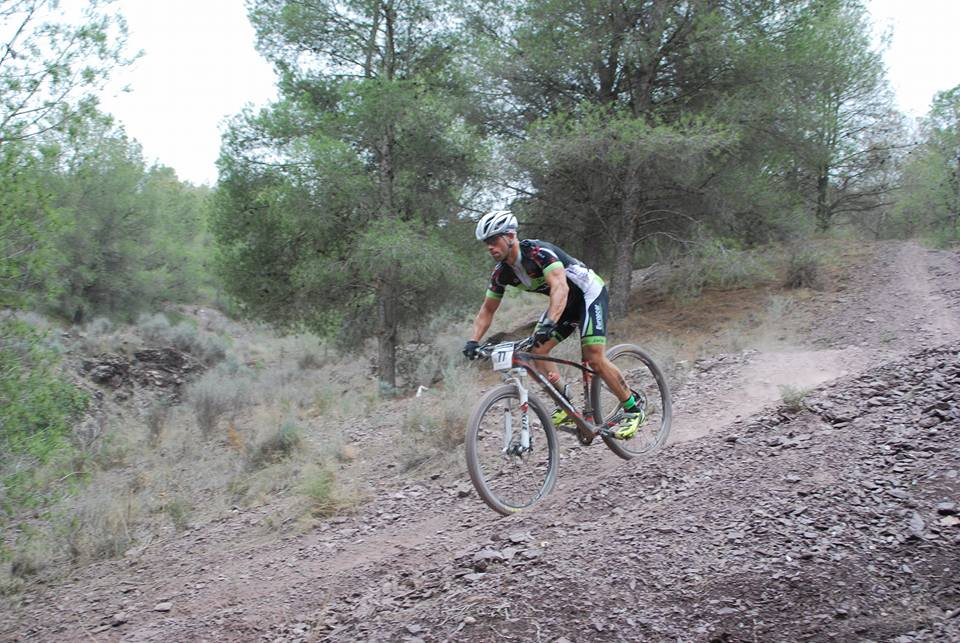 Iván Sánchez en XVII Campeonato de España MTB de Lorca