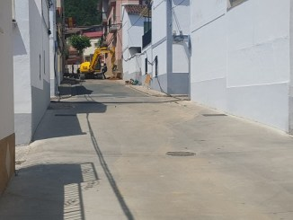 Comienzan las obras en la Ronda de San Isidro de Jaraíz de la Vera
