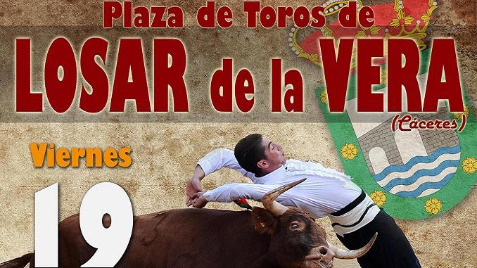 Espectáculo de Recortes en las Fiestas de Losar de la Vera - 19 de agosto 2016