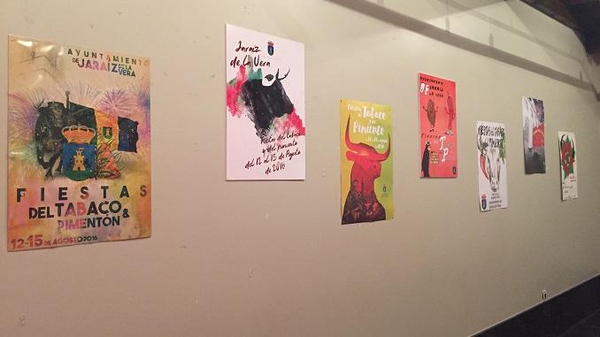 Exposición de carteles de las Ferias y Fiestas del Tabaco y del Pimiento