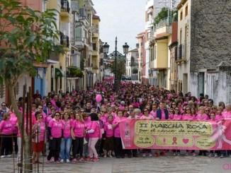 Resumen de la II Marcha Rosa celebrada en Jaraíz de la Vera