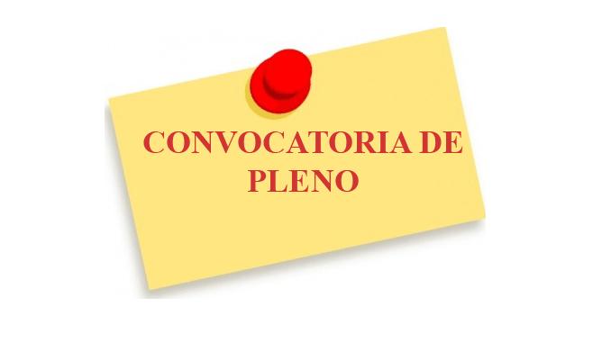 Convocatoria Sesión Ordinaria del Pleno  Ordinario en Jaraíz de la Vera