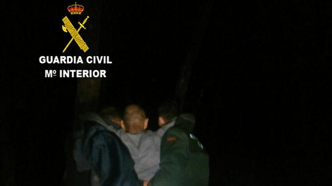 La Guardia Civil localiza a un hombre de 57 años enfermo de párkinson