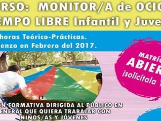 Curso de Monitor de Ocio y Tiempo Libre Infantil y Juvenil