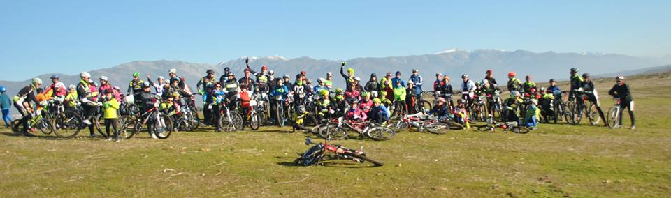 Ruta Familiar Solidaria de Reyes en Bicicleta.