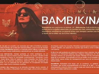 Bambikina nominada al mejor disco Folk del 2017