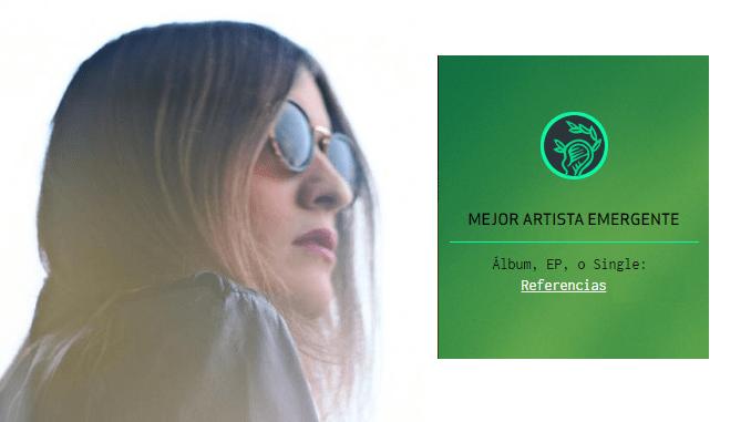 BAMBIKINA inscrita en los Premios MIN de la Música Independiente en la categoría de mejor artista emergente