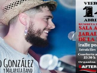 Concierto de Darío González y Malapata Band en la Sala After de Jaraíz de la Vera