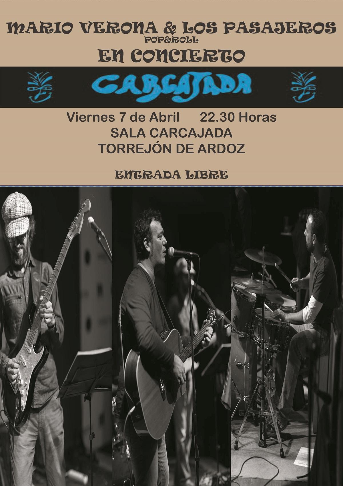 Mario Verona en concierto en Torrejón de Ardoz