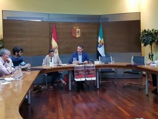 Presentación en Cáceres de la XIX Feria Agroalimentaria de Jaraíz de la Vera, Comarca de la Vera