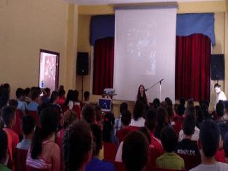 Loida Zabala en el Gregoria Collado de Jaraíz de la Vera