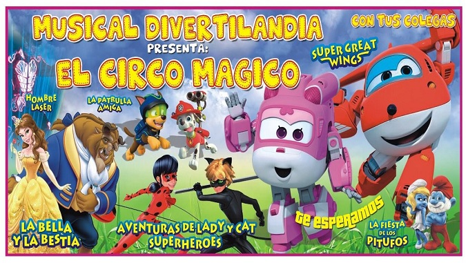 Musical Divertilandia - El Circo Mágico con tus Colegas