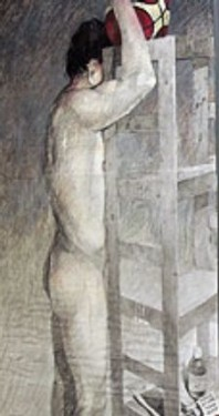 Corpus Corporis - Paintings by Pedro Ávila Durán