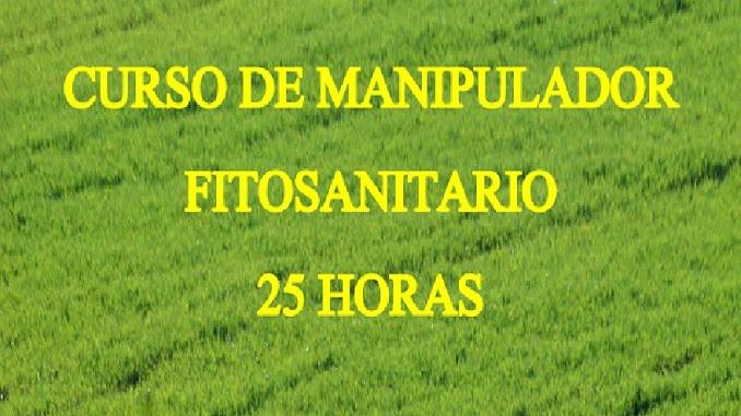 Curso de manipulador fitosanitario de 25 horas en la Universidad Popular