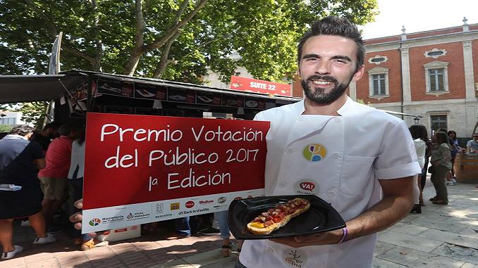"""El jaraiceño Emilio Martín, propietario del Restaurante """"Suite 22"""" premio del público en la Feria gastronómica de Valladolid"""