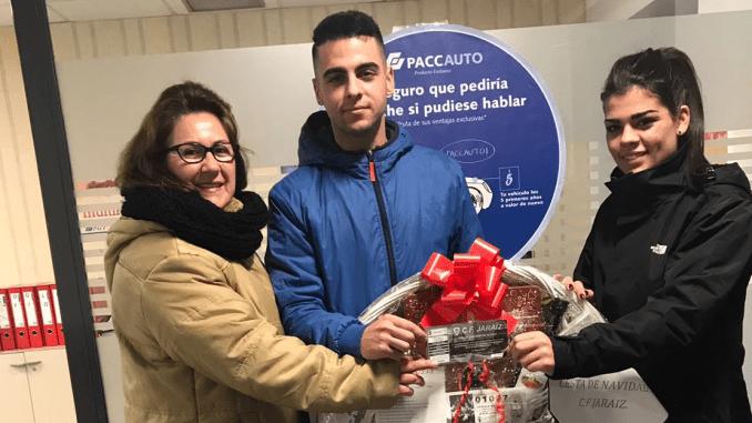 El Club de Fútbol Jaraíz hace público al ganador de la Cesta de Navidad 2017