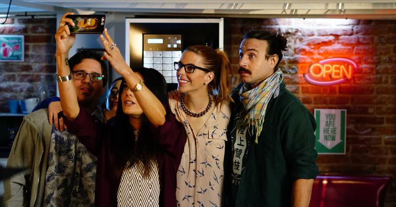 Imagen tomada durante el rodaje de 'Neverfilms'