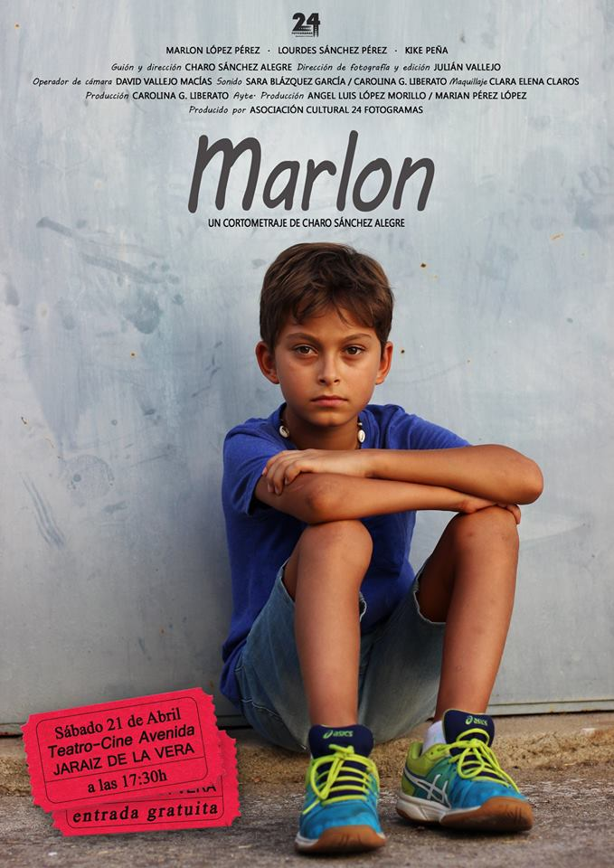 Presentación del Cortometraje Marlon en el Teatro Cine Avenida de Jaraíz