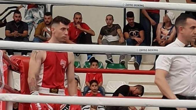 Iván González Arias Campeón de Extremadura de boxeo olímpico de los 75 kgs