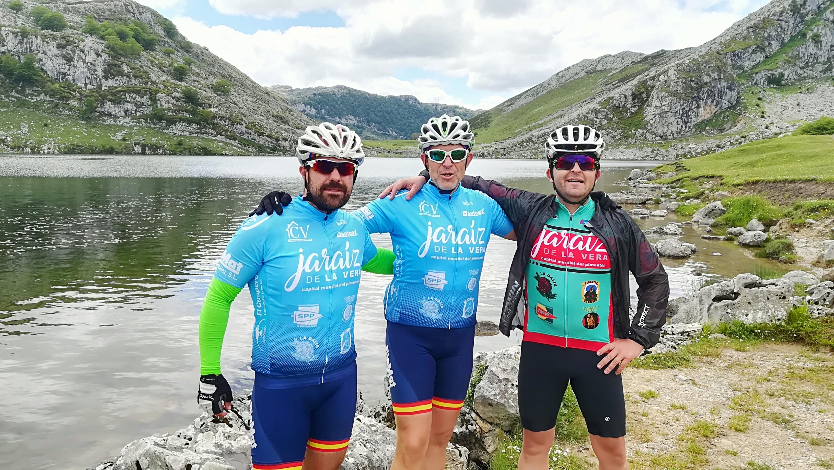 El Equipo Jaraíz de la Vera Capital Mundial del Pimentón en la Clásica Lagos de Covadonga Ride By Movistar