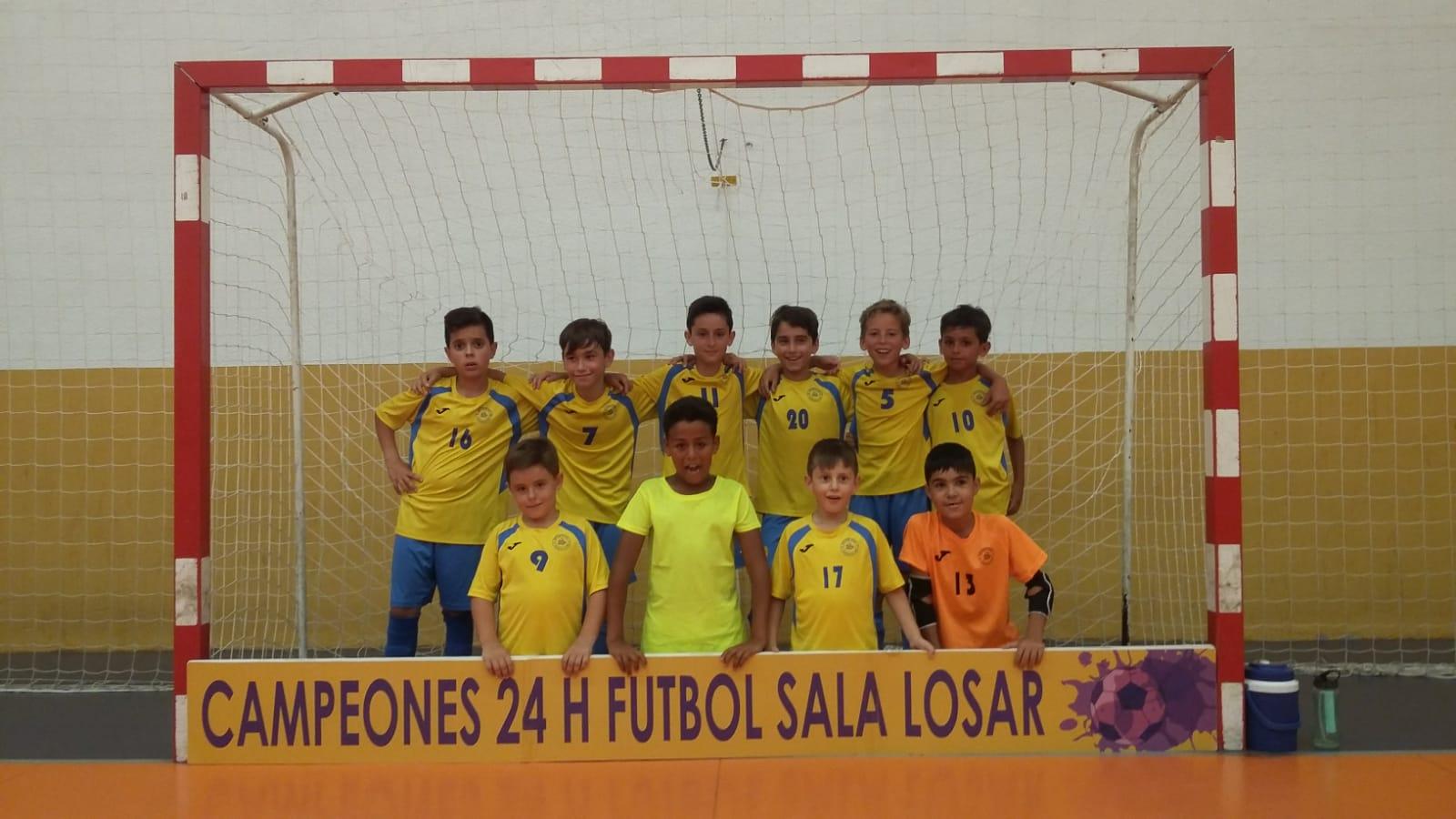 El Sporting C.F. Jaraíz logra un doblete quedando campeón de las 24 horas de Losar y Saucedilla (4)