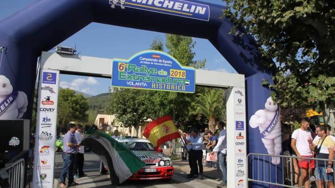 Resultados del VI Rallye de Extremadura Histórico de Jarandilla de la Vera