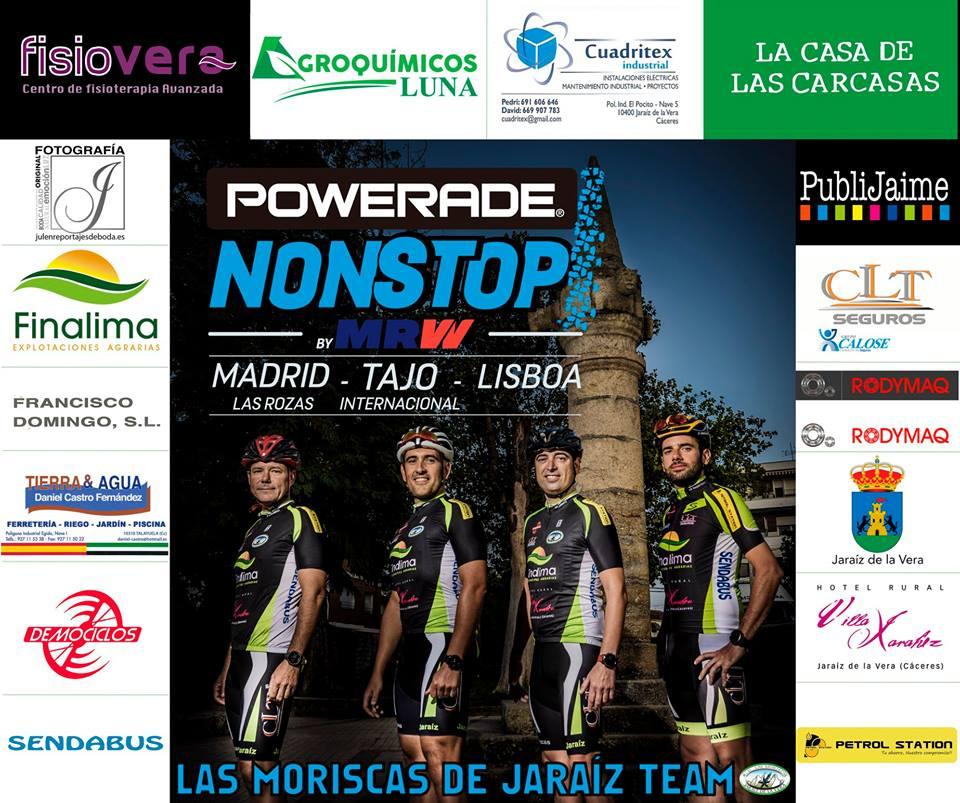 Las Moriscas de Jaraíz Team participará en la Powerade Mtb Non Stop Series Madrid-Tajo-Lisboa