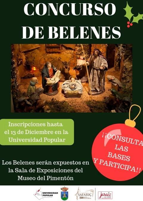 IV Concurso Navideño de Belenes en Jaraíz de la Vera