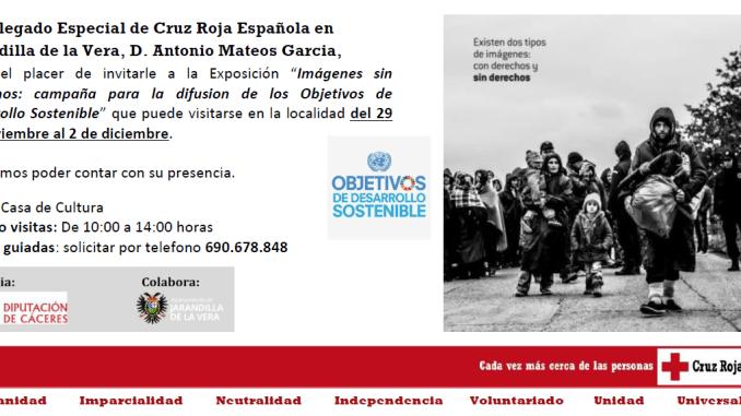 Exposición Campaña Imágenes sin Derecho en Jarandilla de la Vera