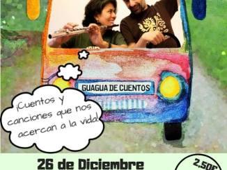 """Sesión de cuentos en tres idiomas """"LA GUAGUA DE CUENTOS"""" en la Casa de la Cultura"""