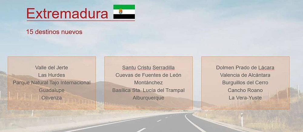 La Vera-Yuste, uno de los quince destinos turísticos que contará con señalización propia en las carreteras del Estado en Extremadura