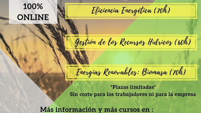 Cursos ON LINE gratuitos para el Sector Agrario