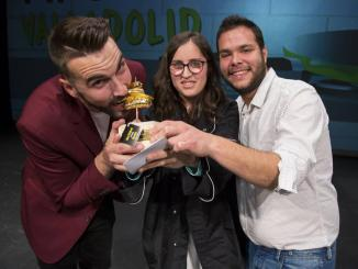 """El Jaraíceño Emilio Martín, ganador del concurso provincial de PINCHOS con """"CONTRADICIÓN"""""""