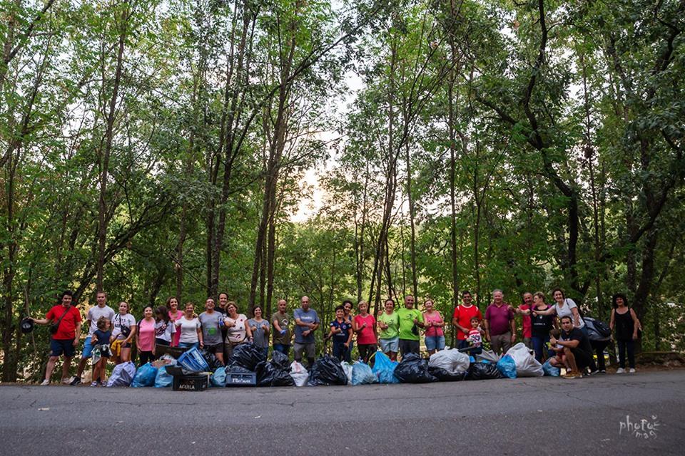 Gran éxito de la iniciativa solidaria con el «Reto de concienciación ciudadana» en el Lago Alonso Vega