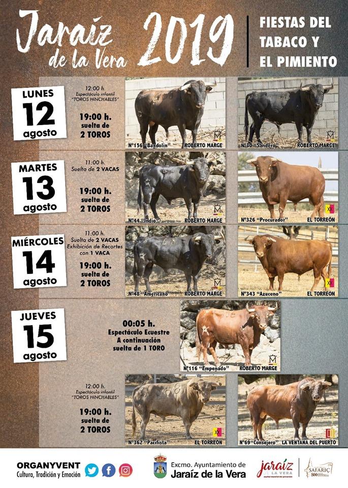 Cartel de los toros