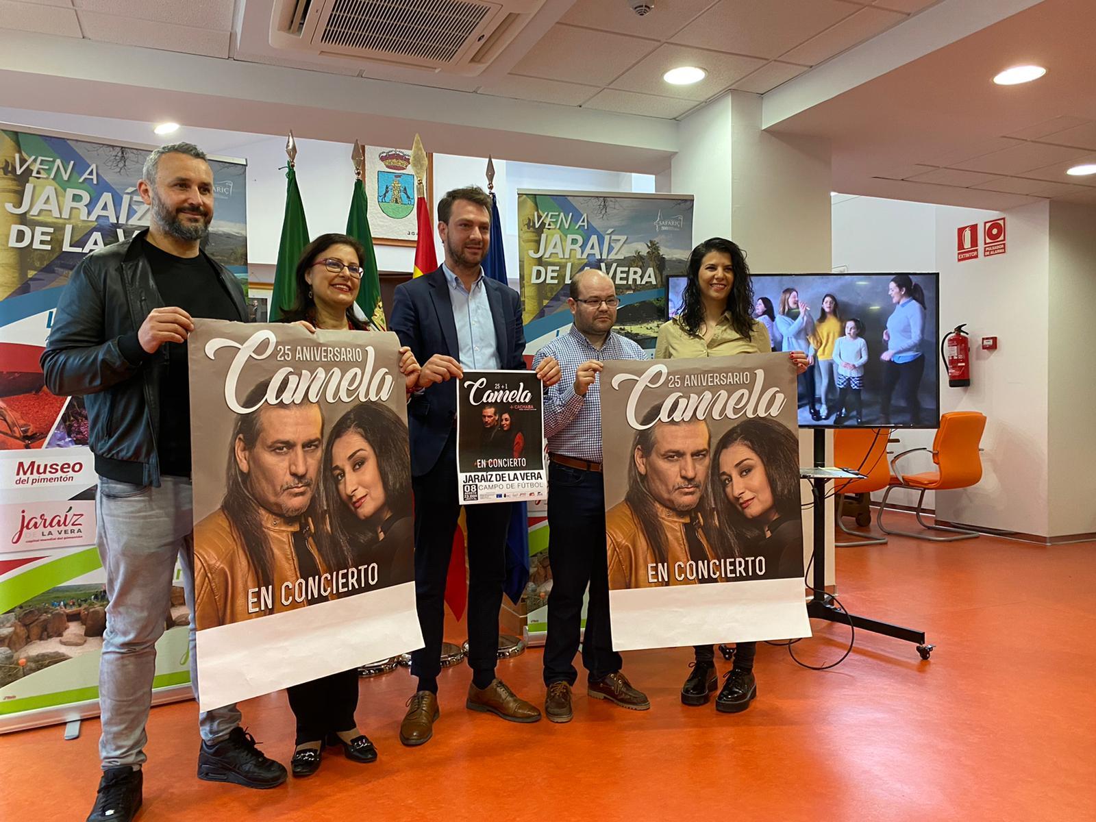 Camela actuará en Jaraíz de la Vera el 8 de agosto de 2020 con su gira 25+1 (8)