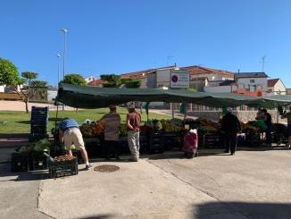 El mercadillo ha vuelto hoy jueves 18 a Jaraíz de la Vera