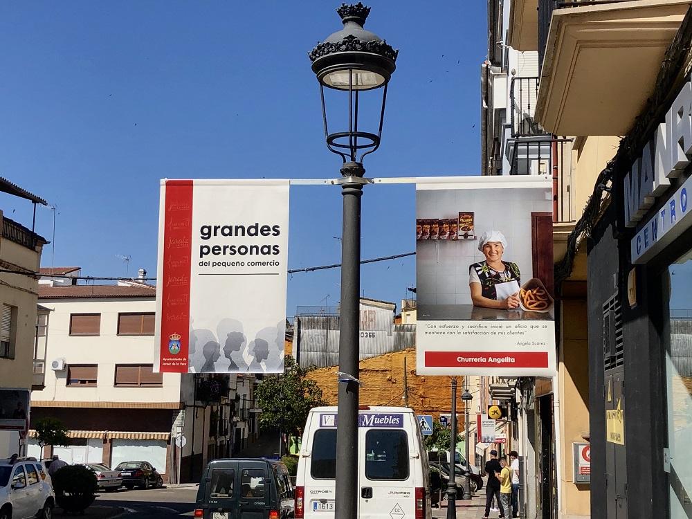 """""""Grandes personas del pequeño comercio"""" de Jaraíz de la Vera"""