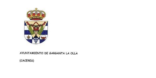 Comunicado del Ayuntamiento de Garganta la Olla - Covid19