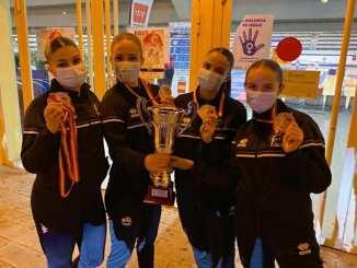 Equipo Senior de Karate Femenino Extremadura