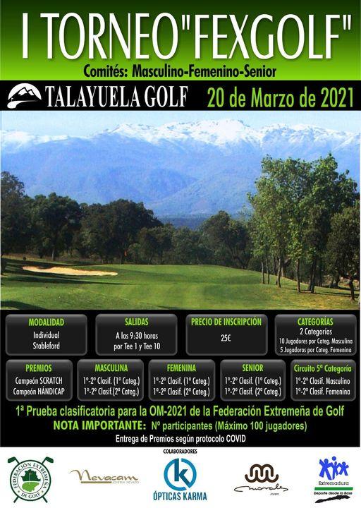 Toreno Federación Extremeña de Golf