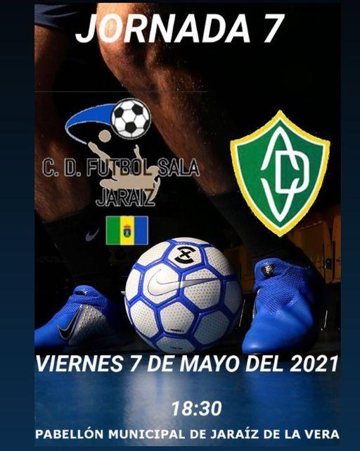 Suspendido el partido de Fútbol Sala entre el C.D. Fútbol Sala Jaraíz frente al AD Valverdeña