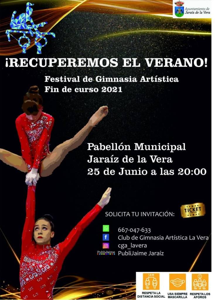 """Festival de Gimnasia Artística fin de curso 2021 - """"Recuperemos el verano"""""""