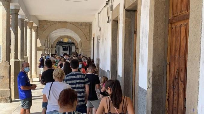 Colas - Jaraiz - Pase de Ferias - 2021-08-10