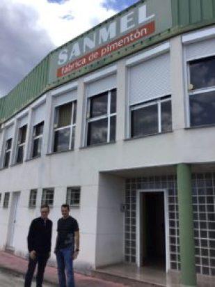 Iván y Roberto Sánchez, dueños de Sanmel y Biovera