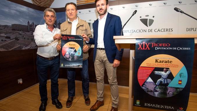 """Losar de la Vera acogerá el XIX Trofeo """"Diputación de Cáceres de Kárate"""" con más de 100 jóvenes"""