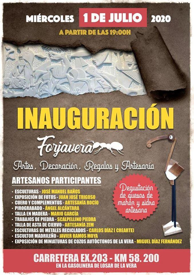 Nace Forjavera, un espacio de referencia artística para la Comarca de La Vera