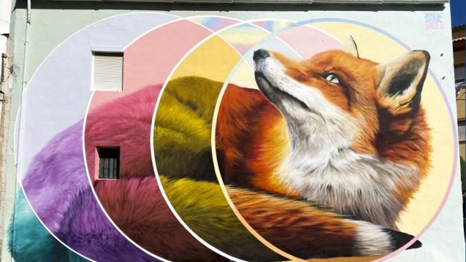 El arte urbano transforma el paisaje de Losar de La Vera